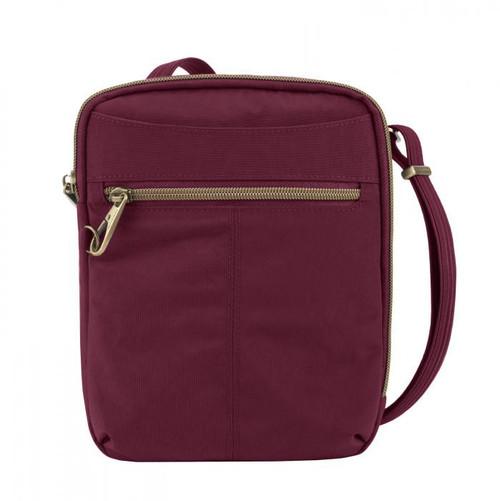 Travelon Anti-Theft Signature Slim Ruby Day Bag at Bijou's Boutique