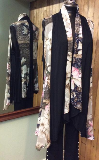 Aris A sleeveless vest at Bijou's Boutique.