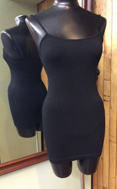 Papa long tank/cami top with adjustable straps at Bijou's Boutique.