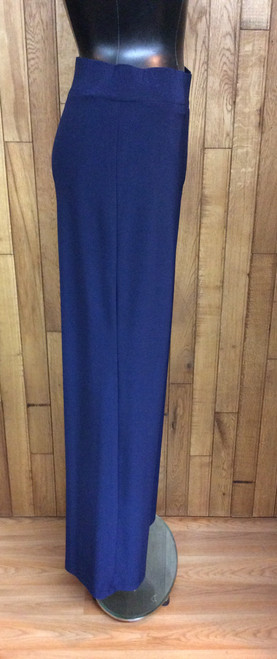 Softworks navy blue pants with wide leg at Bijou's Boutique