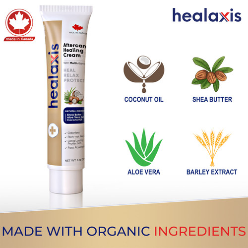 Organic Aftercare Healaxis® Cream ---30ml