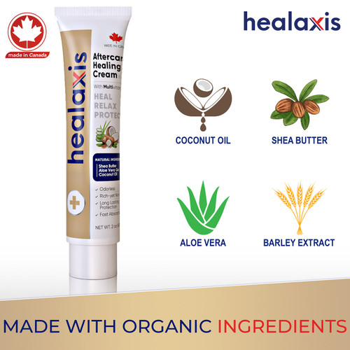 Organic Aftercare Healaxis® Cream ---60ml