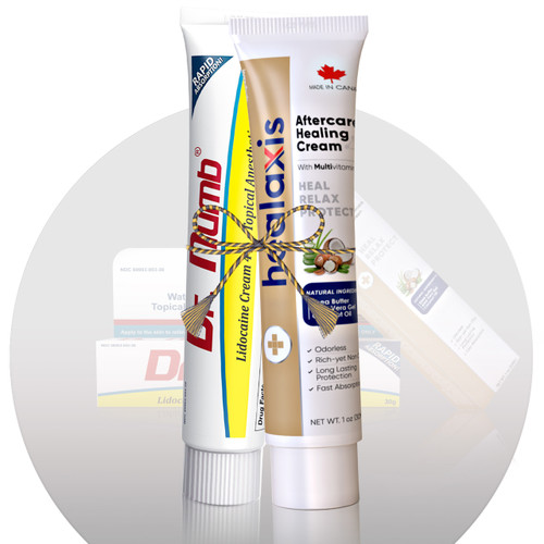 Lidocaine Cream with Effective and Fast-Acting Healaxis Aftercare Healing Cream