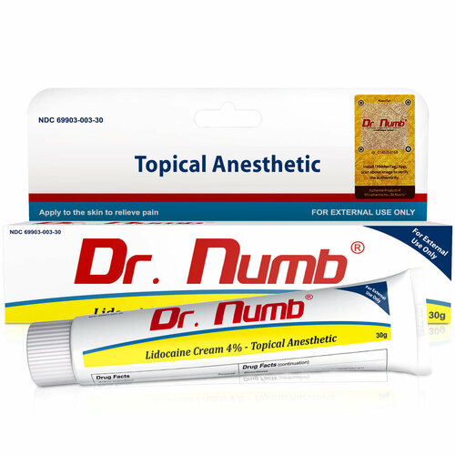 Dr. Numb® 4% Lidocaine Cream
