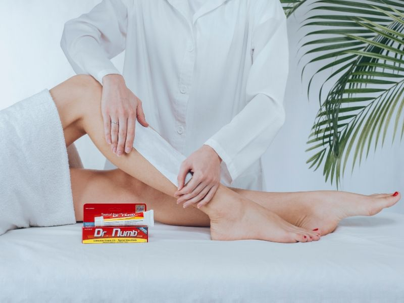 Solutions to survive the pain of laser hair removal treatments on legs & bikini line