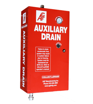 Heated Auxiliary Drain Cabinets