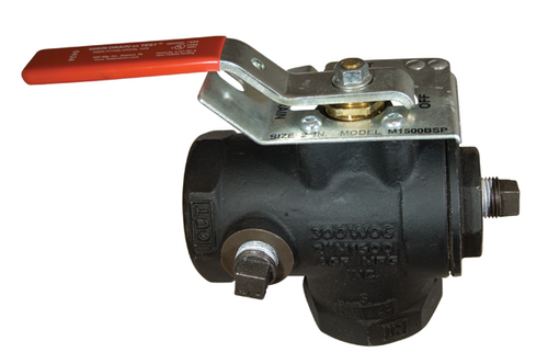 AGF Model 1500 iron drain and test valve.