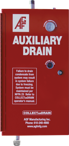 AGF COLLECTanDRAIN Model 5500 automatic auxiliary drain