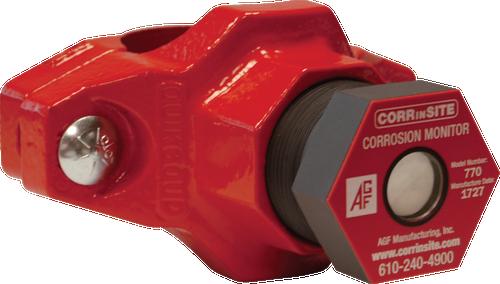 AGF mechanical tee corrosion monitor model 7800