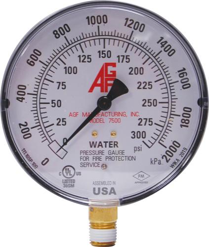 AGF Model 7500 pressure gauge