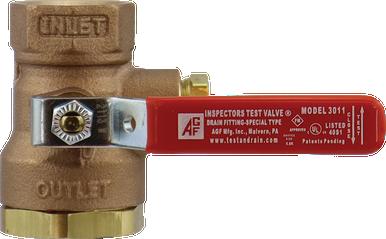 Model 3011BV Inspector'sTEST Ball Valve