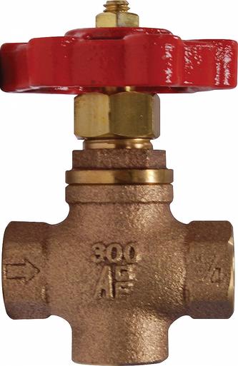 AGF Model 7600 universal 3 way valve