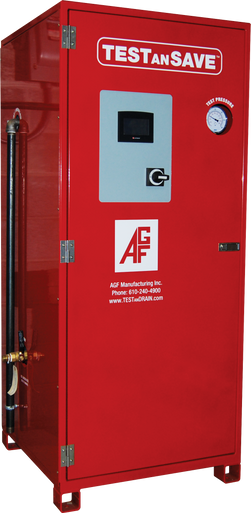 AGF's TESTanSAVE water recirculation system.