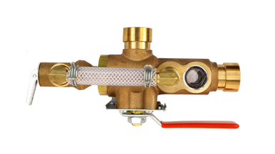 Grooved 2511A with Pressure Relief Valve