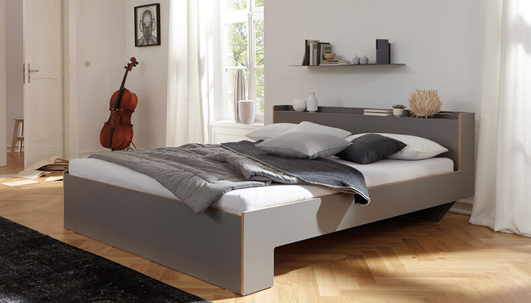 Nook Double Bed Anthracite