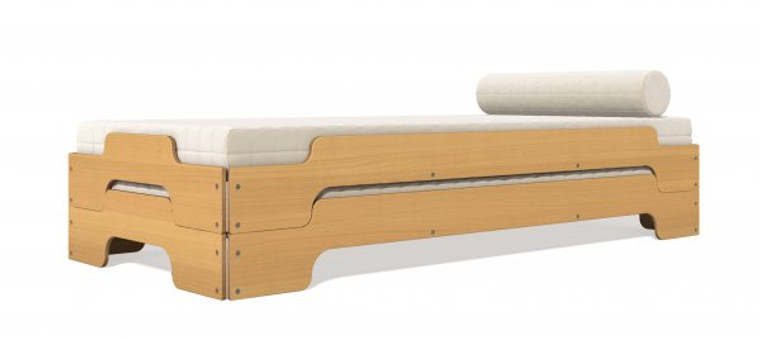 Stacking Bed Comfort in Beech