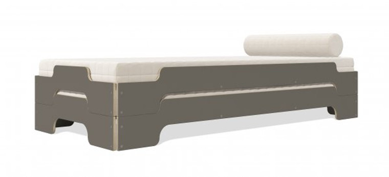 Stacking Modern Bed Comfort CPL in Anthracite