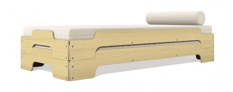 Stacking Bed Comfort in Maple