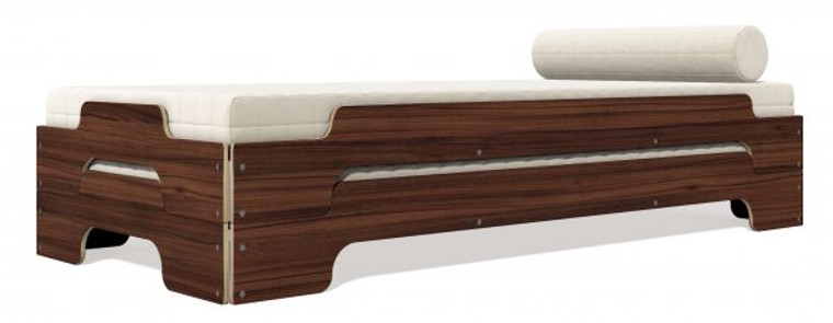 Stacking Bed Comfort Walnut (One Bed)