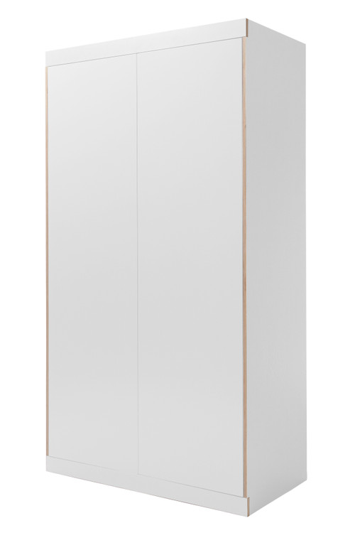 FLAI Wardrobe 2-Door in White