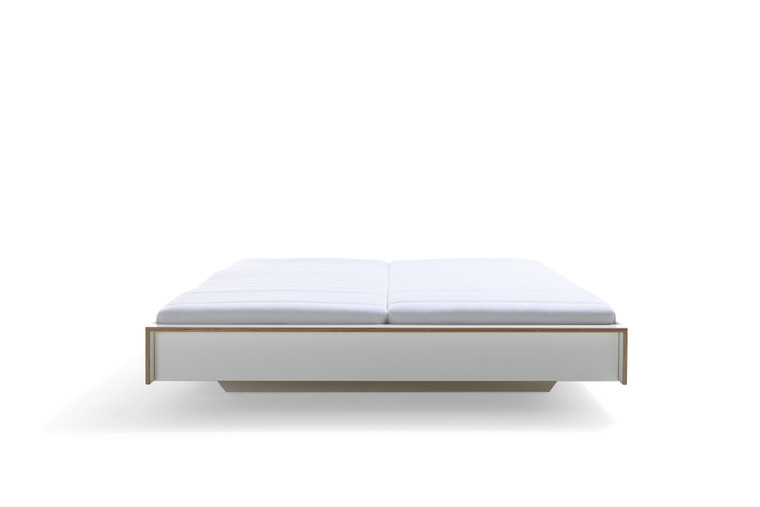 FLAI Modern Bed in White