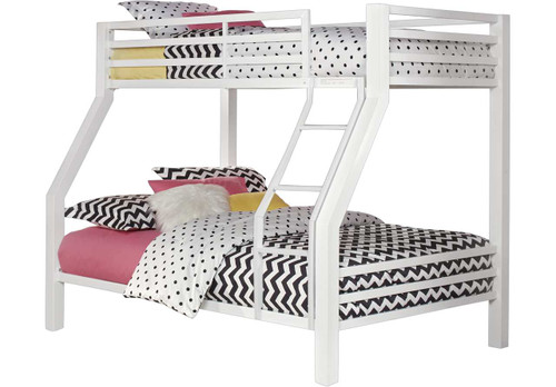 XANDER WHITE TWIN/FULL BUNK BED