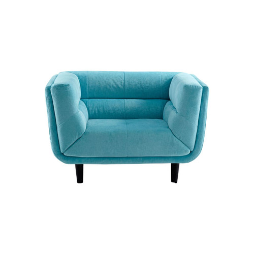 Cyan Design 08344 Voyager 30.5 Inch Tall Wood and Foam Arm Chair