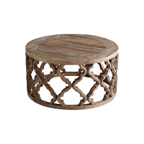 Cyan Design 06559 Sirah 30.5 Inch Diameter Wood Coffee Table