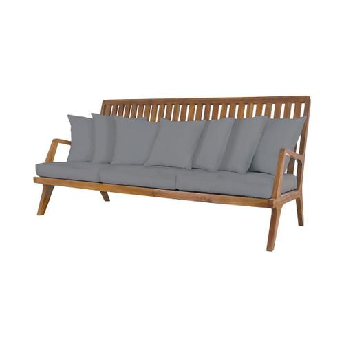 "GuildMaster 2317011S-GO 20"" x 26"" Foam Filled Fabric Outdoor Cushion"