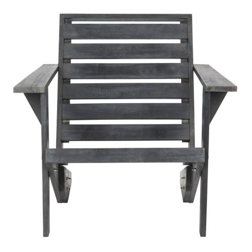 Safavieh PAT6746B Lanty 29-1/2 Inch Wide Wood Outdoor Adirondack Chair