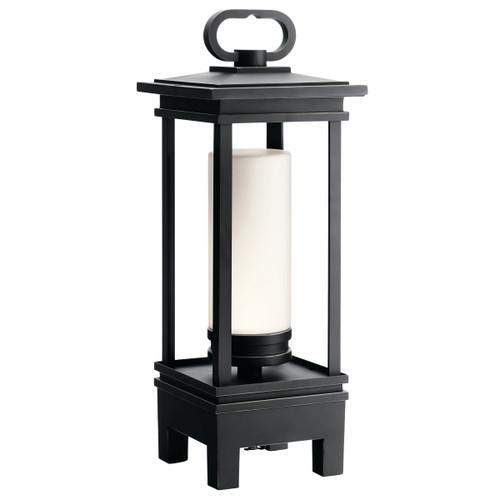 Kichler 49473RZLED South Hope Portable LED Lantern with Bluetooth Speaker