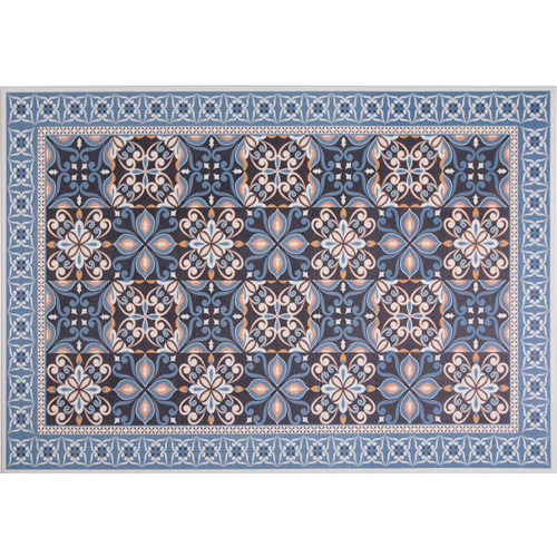 Home Dynamix 5N-04146-309 Calm Step 3' x 5' Synthetic Transitional Kitchen Mat
