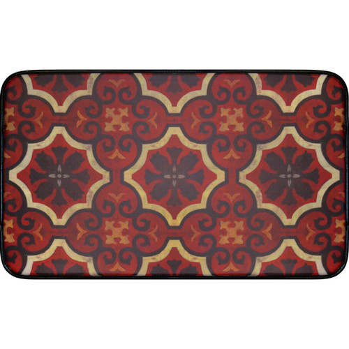 Home Dynamix 5-DC37 Designer Chef 2' x 2' Synthetic Transitional Kitchen Mat