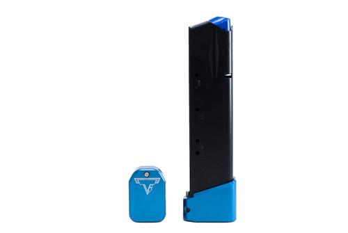 Taran Tactical +4 CZ 9mm Basepad  Blue