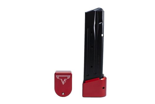 Taran Tactical Sig Sauer P320 9/40 +5 Basepad Red