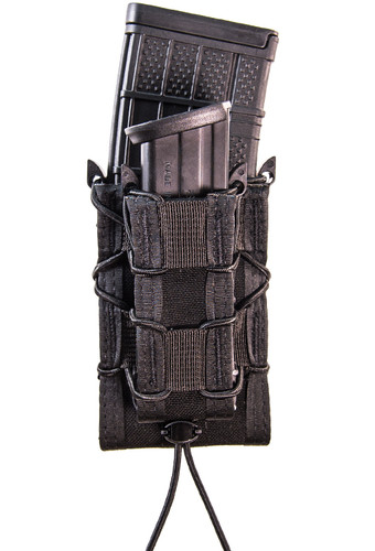 High Speed Gear Double Decker Taco Pistol & Rifle Mag Pouch - Molle Black