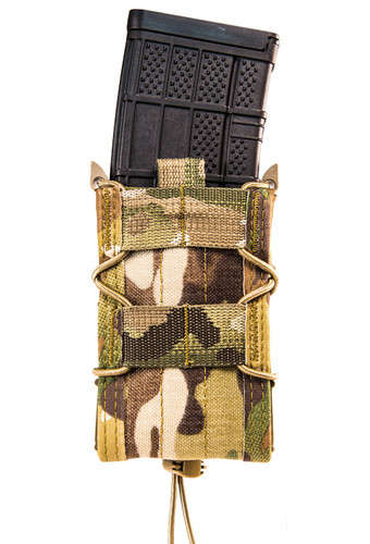 High Speed Gear Rifle Mag Pouch - Molle multicam