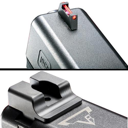 TTI Ultimate Fiber Optic Sights Set for Glock by Taran Tactical (GSSF)