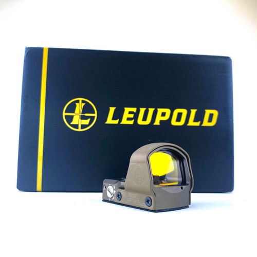 Leupold DeltaPoint Pro 2.5 MOA Red Dot Optic Sight in Flat Dark Earth (175840)