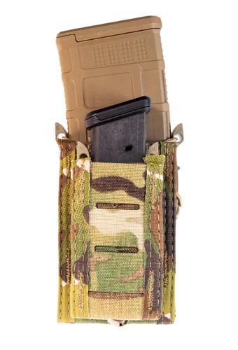 High Speed Gear (HSG) Duty Double Decker Taco Pistol & Rifle Mag Pouch