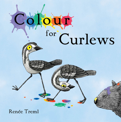 Colour for Curlews by Renée Treml. An adorable case of Australian birds introduce readers to the joy of colours and colour mixing.