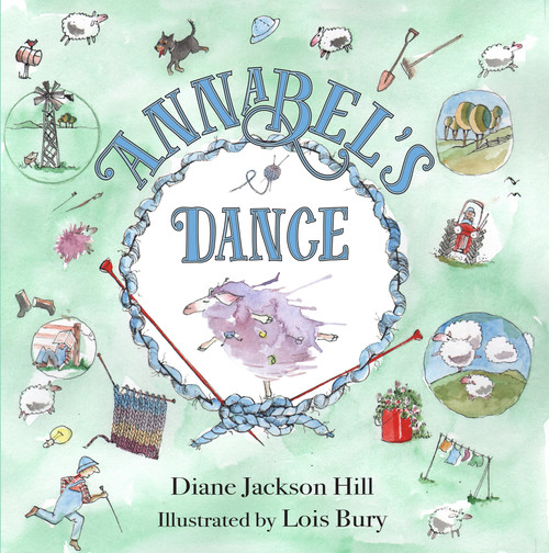 Annabel's Dance by Diane Jackson Hill. Poignant and humorous, this picture book is a story of amud-puddle coloured sheep celebratesour uniqueness.