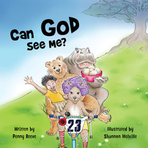 Can God See Me? by Penny Reeve. Join the wild, hilarious and certainly crazy ride of a young boy who dares to imagine the incredible scope of God's love and care.