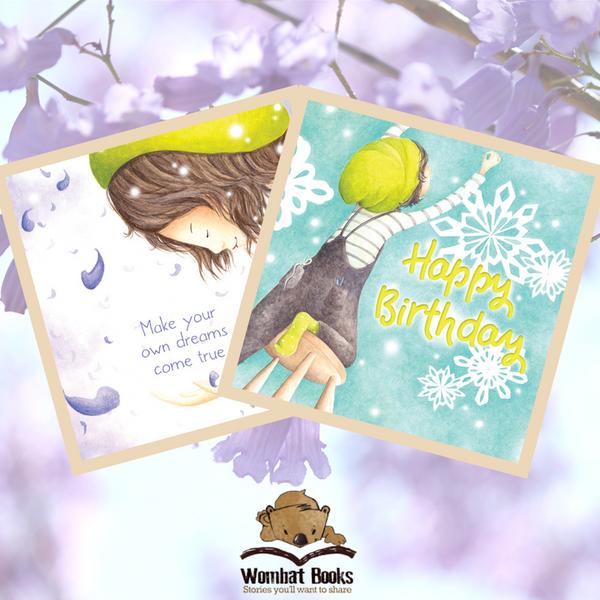 Jacaranda Snow Gift Card, Style 1&2