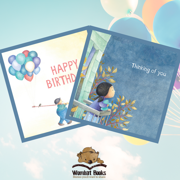 Lily's Balloon Gift Card, Style 1&2