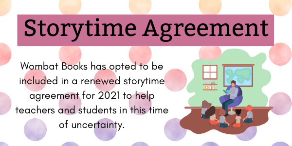 Storytime Agreement renewal for 2021