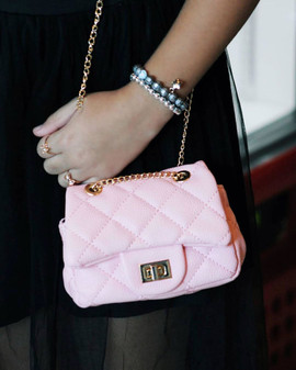 AVA Mini Crossbody Handbags In Black