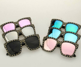 SQUARED MINI Rhinestone Embellished FRAMES (FOR TODDLERS & KIDS)