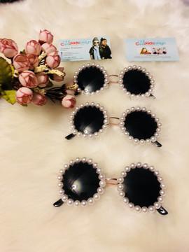 PAMELA LUXURY Pearl Sunglasses (Toddlers & Girls)