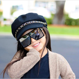Hater blocker oversize mirror Mini frames (UNISEX)